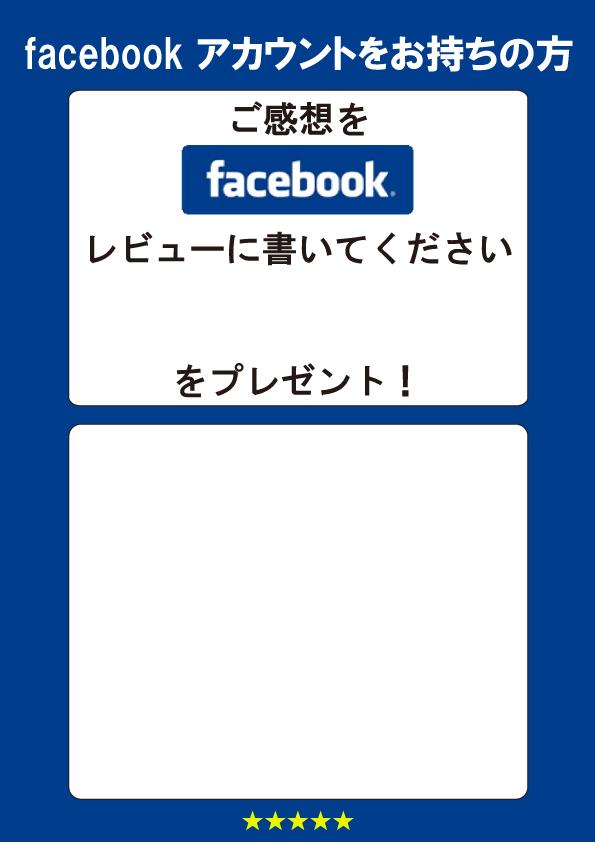 サムネイル:フェイスブックでレビュー1