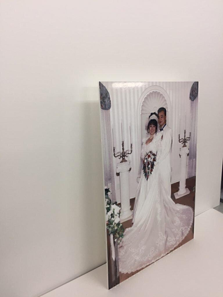 結婚写真パネル