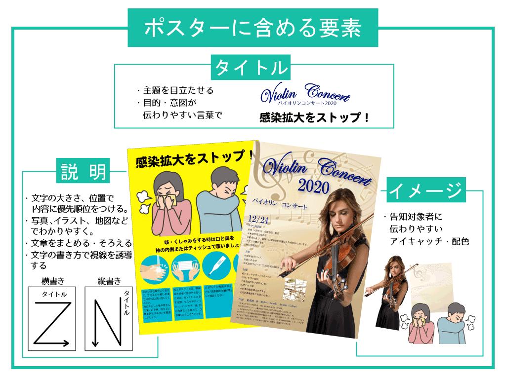ポスター印刷デザイン
